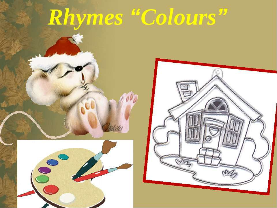"Rhymes ""Colours"""