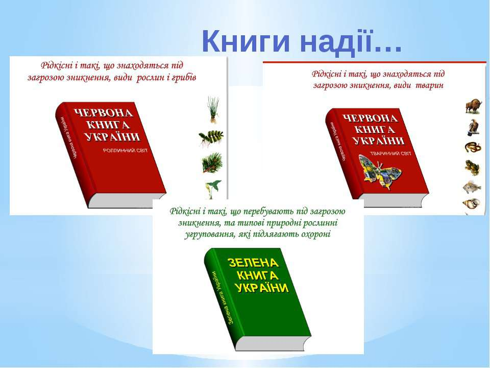 Книги надії…