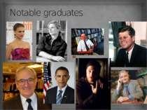 Notable graduates