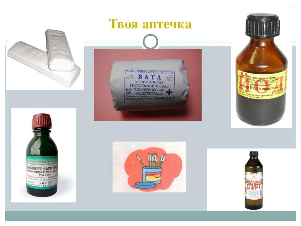 Твоя аптечка