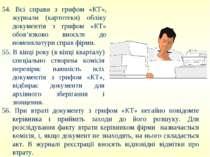 54. Всі справи з грифом «КТ», журнали (картотеки) обліку документів з грифом ...