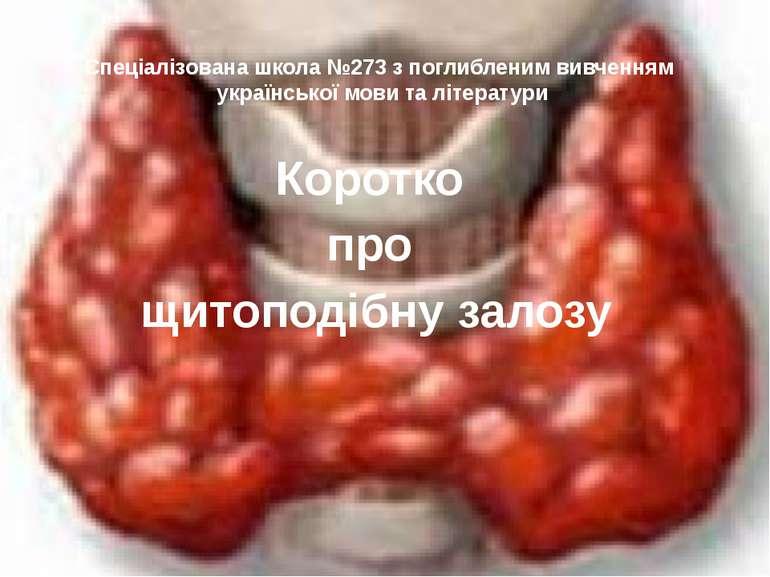 Спеціалізована школа №273 з поглибленим вивченням української мови та літерат...
