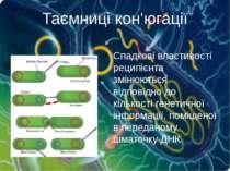 Спадкові властивості реципієнта змінюються відповідно до кількості генетичної...