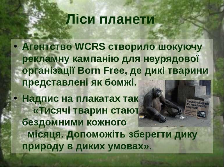 Агентство WCRS створило шокуючу рекламну кампанію для неурядової організації ...