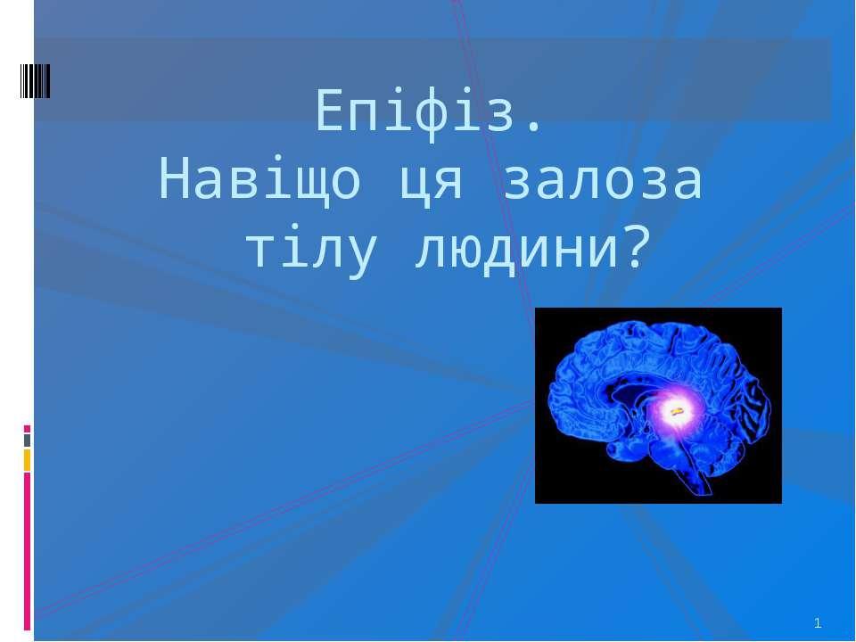 Епіфіз. Навіщо ця залоза тілу людини? * http://www.inco-eeca.net