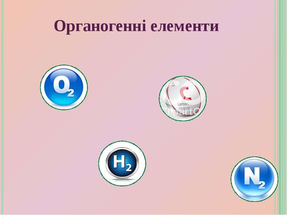 Органогенні елементи