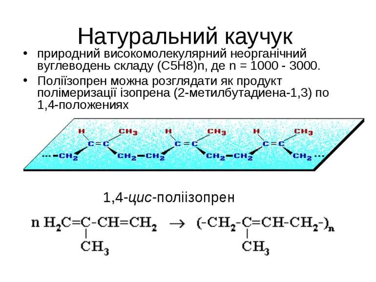 Натуральний каучук природний високомолекулярний неорганічний вуглеводень скла...