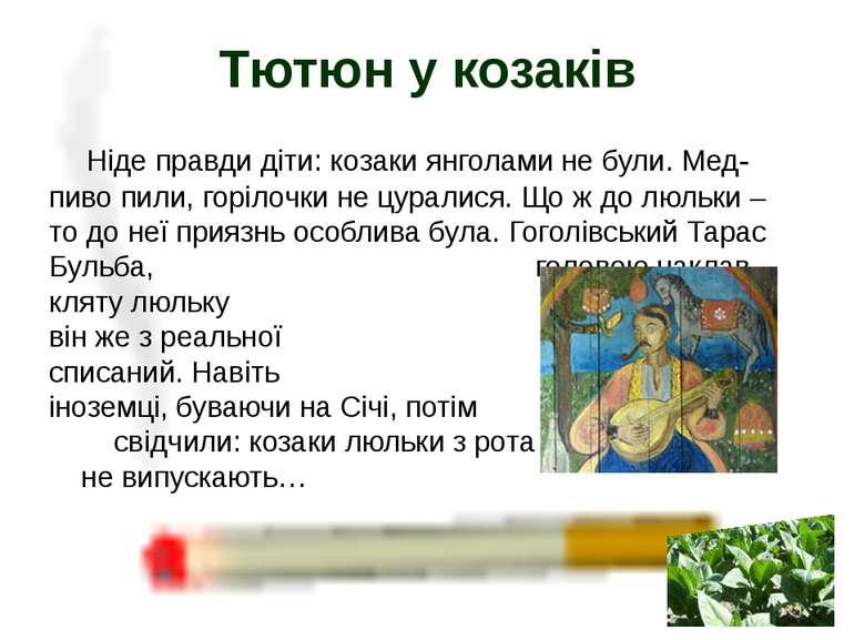 Ніде правди діти: козаки янголами не були. Мед-пиво пили, горілочки не цурали...