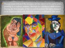 Picasso demonstrated the uncanny artistic talent in his early years, painting...