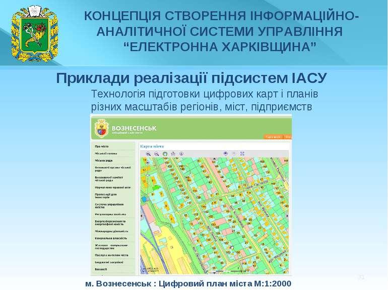 * Технологіяпідготовки цифровихкартіпланів різних масштабів регіонів, мі...