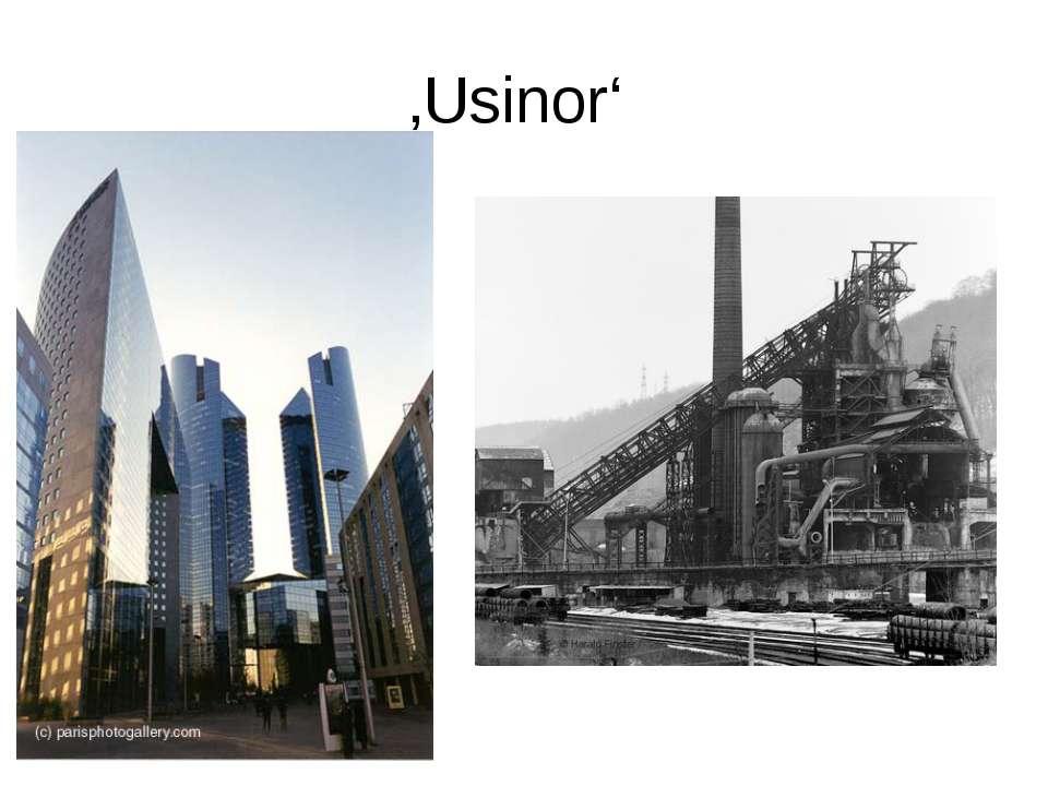 'Usinor' (französisch)