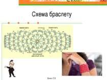 Схема браслету Ханас Л.Я.