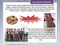 Культура кожного народу відображена та зафіксована найперше в його мові. Для ...