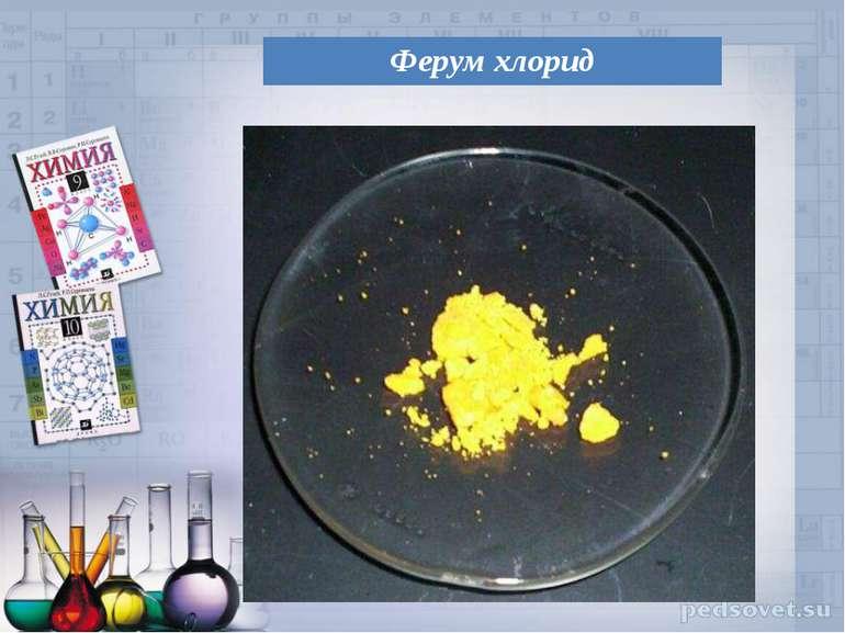 Ферум хлорид
