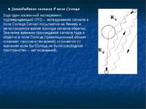 ►Запаздывание сигнала в поле Солнца Еще один косвенный эксперимент, подтвержд...