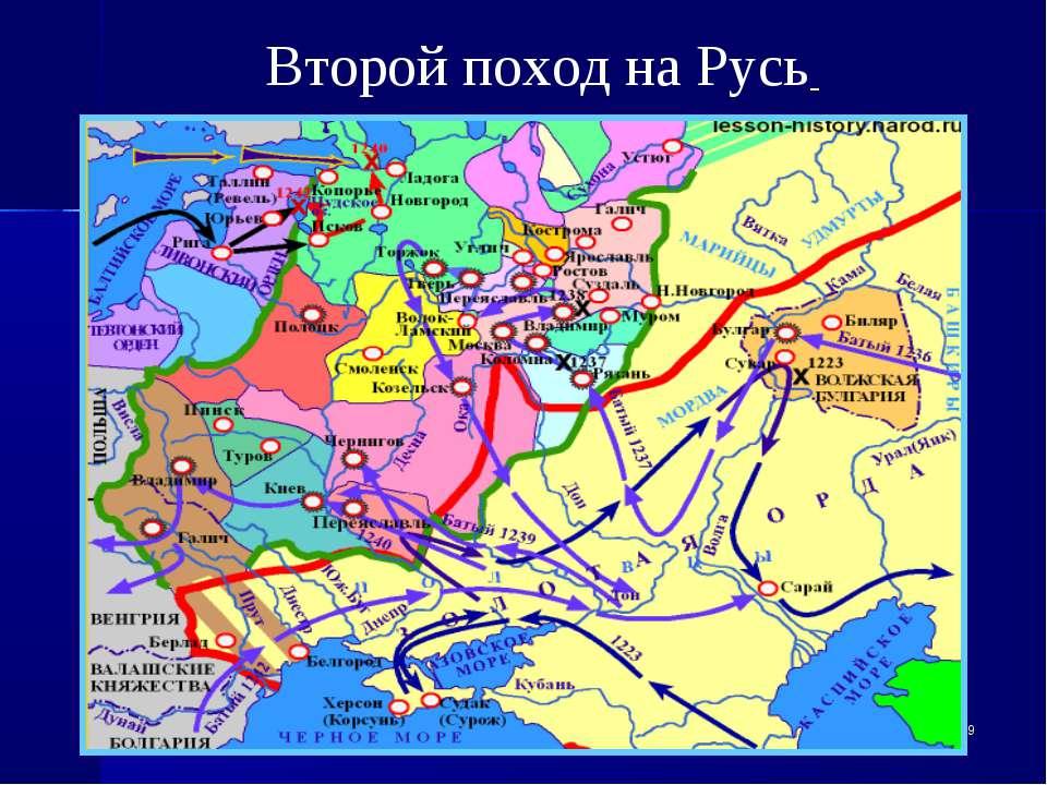 * Второй поход на Русь