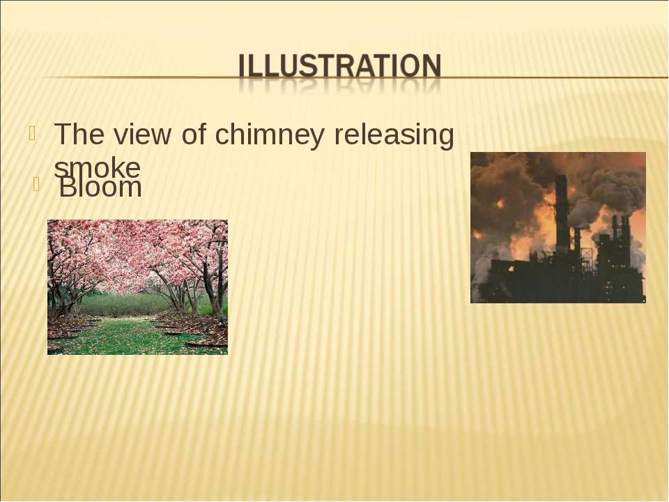 The view of chimney releasing smoke Bloom