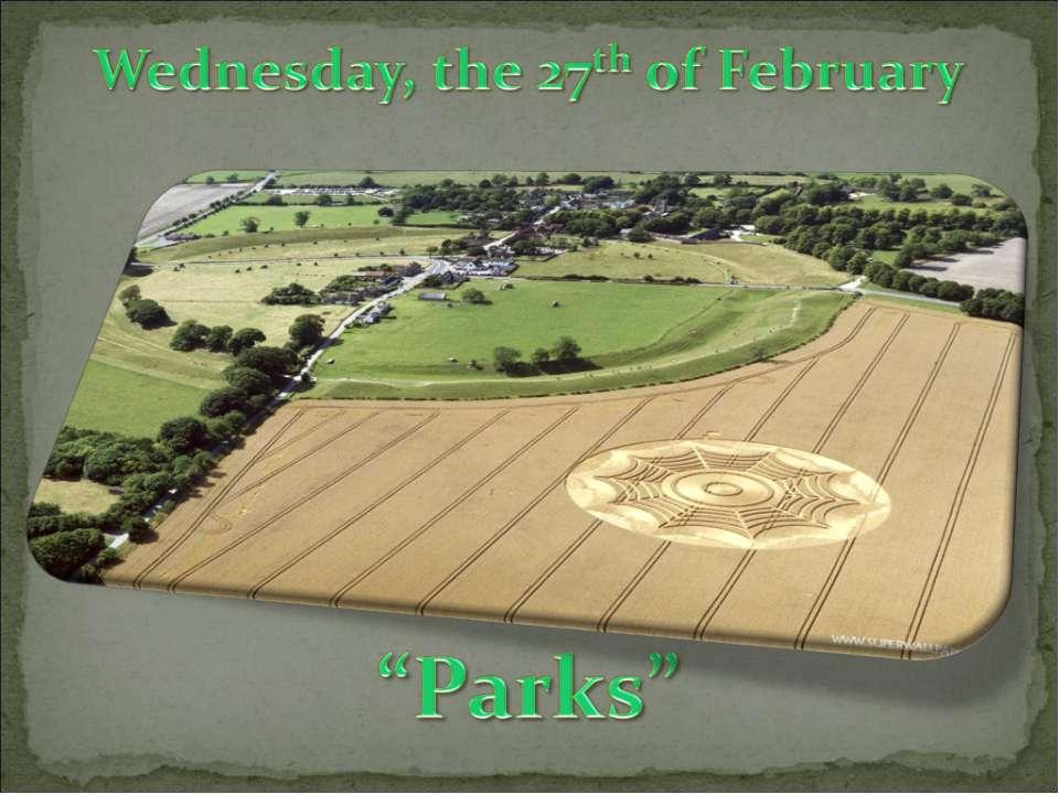 """Parks"""