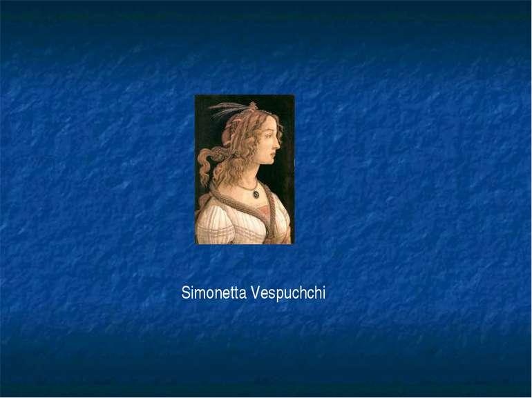 Simonetta Vespuchchi