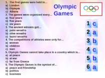 The first games were held in… London Olympia Athens 2. The games were organiz...