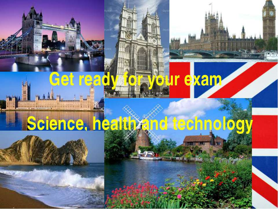 Get ready for your exam Science, health and technology