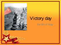 Victory day the 9th of May