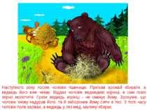 Наступного року посіяв чоловік пшеницю. Приїхав врожай збирати, а ведмідь йог...