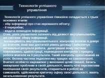 Технологія успішного управління Технологія успішного управління гімназією скл...