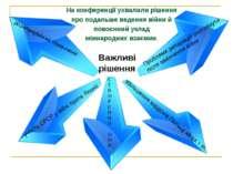 Важливі рішення участь СРСР у війні проти Японії збільшення кордонів Польщі н...