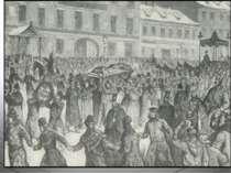 27 грудня 1877 року поет помер. В морозний день 30 грудня 1877 року Петербург...