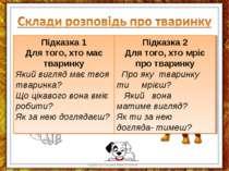Куракса Оксана Миколаївна Підказка 1 Для того, хто має тваринку Який вигляд м...