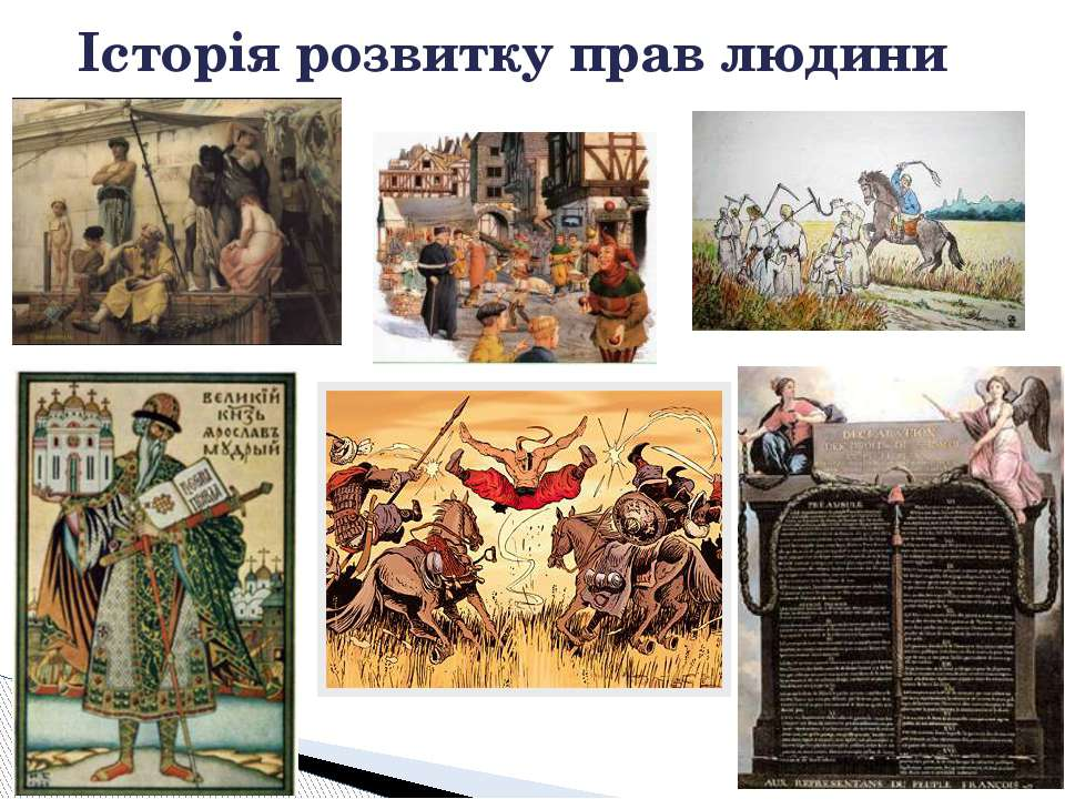 Історія розвитку прав людини