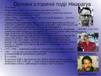 Основні історичні події Нікарагуа 20 століття На прохання уряду в1912розміщ...