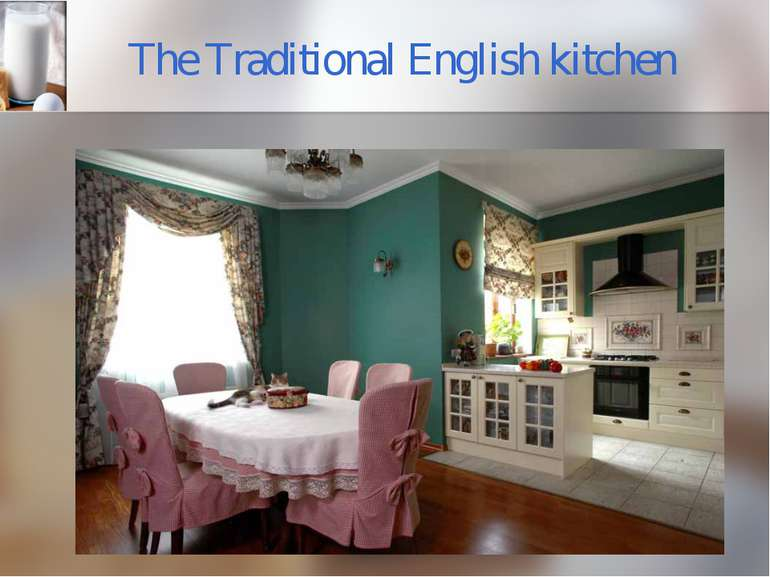 The Traditional English kitchen