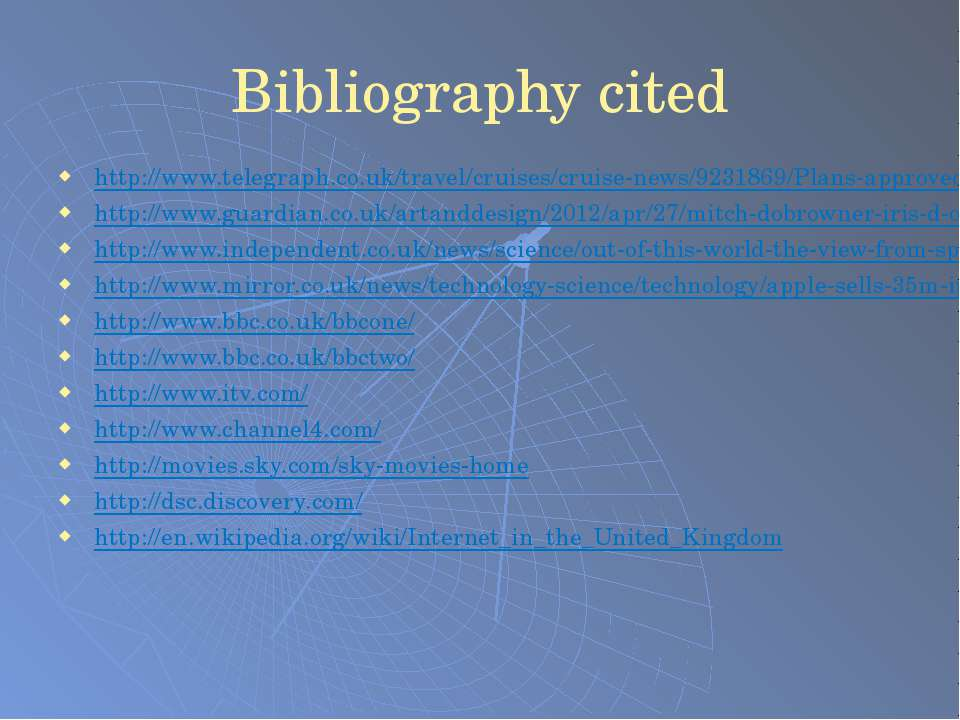 Bibliography cited http://www.telegraph.co.uk/travel/cruises/cruise-news/9231...