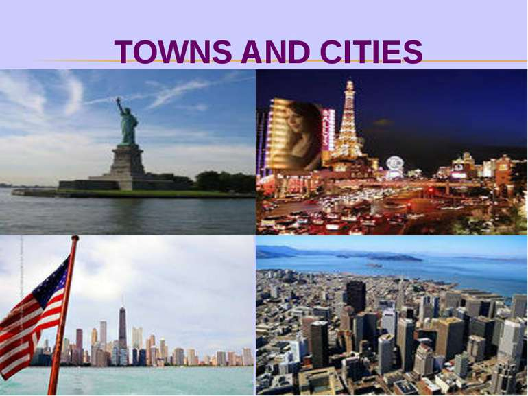 TOWNS AND CITIES