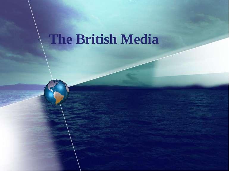 The British Media
