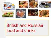 British and Russian food