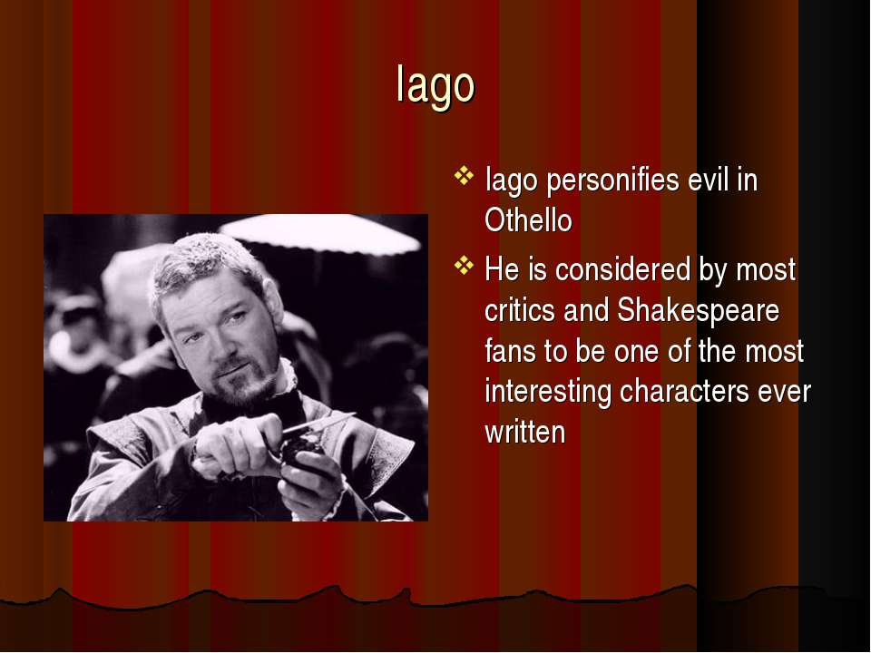 human evil in othello Ebscohost serves thousands of libraries with premium essays, articles and other content including dracula as metaphor for human evil get access to over 12 million other articles.