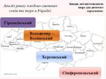 Аналіз ринку плодово-овочевих соків та пюре в Україні. Зараз заводів, які виг...