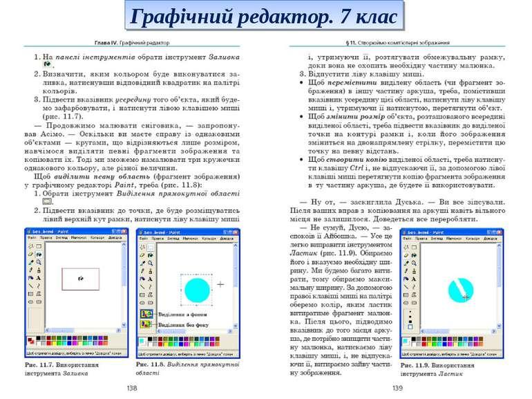 Графічний редактор. 7 клас