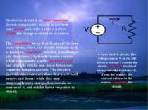 An electric circuit is an interconnection of electric components, usually to ...