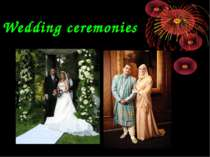 Wedding ceremonies