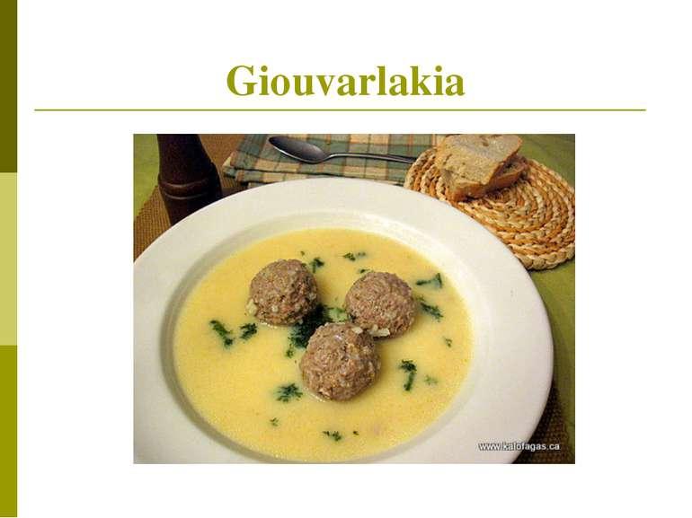 Giouvarlakia