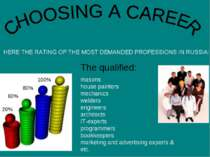 Choosing Career