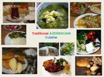 Traditional AZERBAIJAN Cuisine