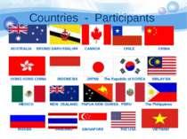 Countries - Participants AUSTRALIA BRUNEI DARUSSALUM CANADA CHILE CHINA HONG ...