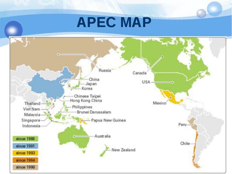 APEC MAP