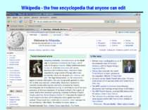 Wikipedia - the free encyclopedia that anyone can edit Основи програмної інже...