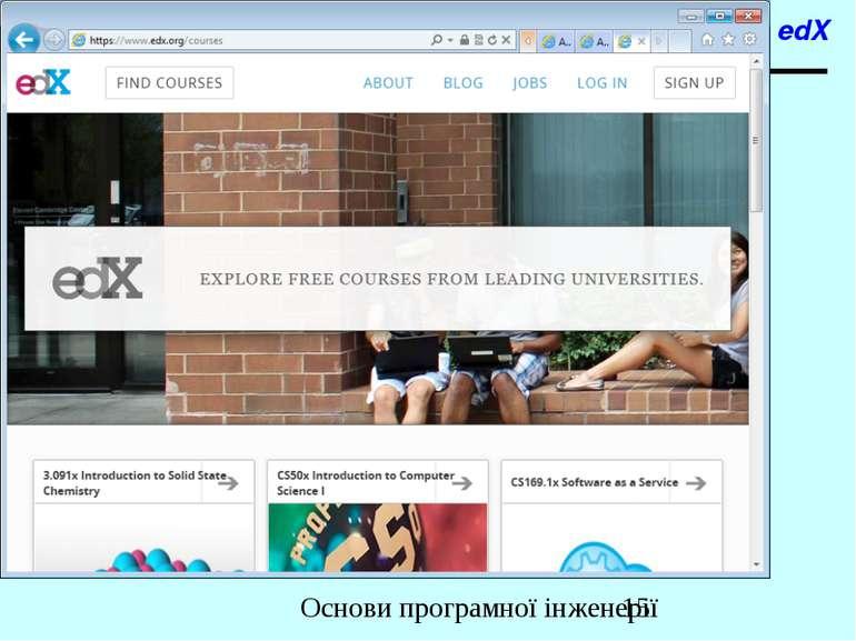 edX Основи програмної інженерії